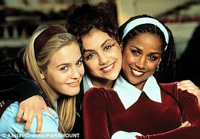 Breakthrough: Brittany in Clueless, her first big film role, and her