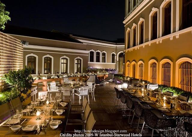 W Istanbul_22_Les plus beaux HOTELS DESIGN du monde