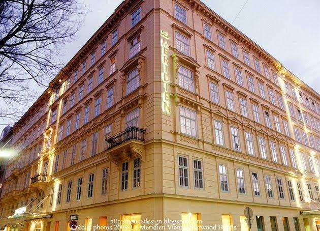 Le Meridien Vienne_1_Les plus beaux HOTELS DESIGN du monde