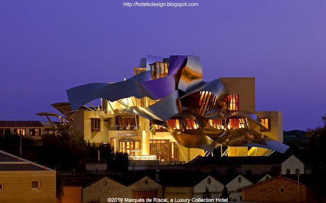 Marqués de Riscal_Frank Gehry_4_Les plus beaux HOTELS DESIGN du monde