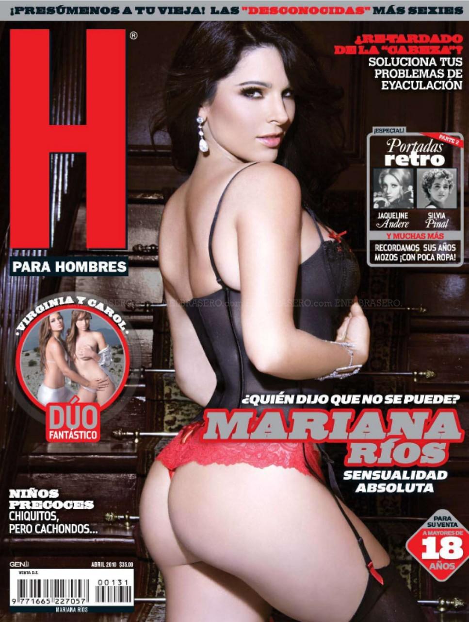 Mariana Rios muestra su sensualidad absoluta en la revsita H para ...