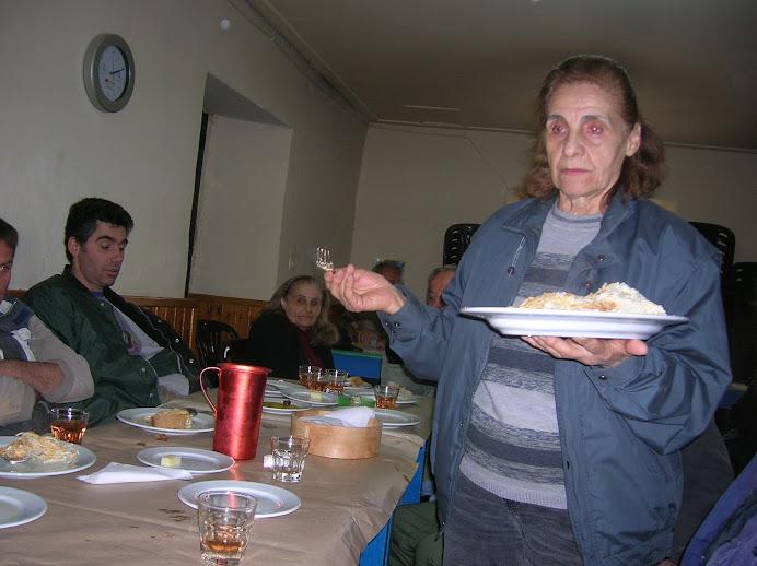 15/3/2009 - μετά τη φασολάδα και την ομελέτα, η μακαρονάδα
