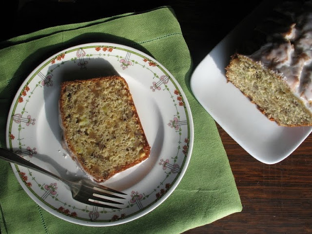Grapefruit-Ginger Tea Bread