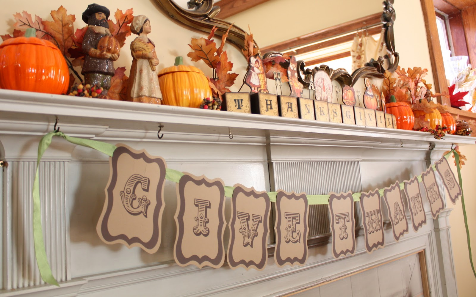 This is an image of Irresistible Printable Thanksgiving Banners