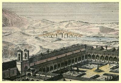 Puente de Cartuja y monasterio