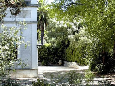 Casa de la Viña de Alcántara: jardines