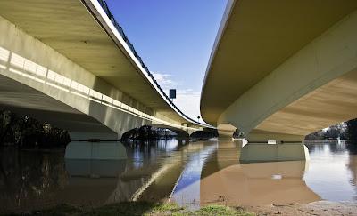 Puentes de la autovia Jerez-Los Barrios
