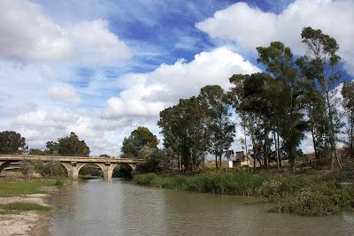 El Guadalete en el puente de Cartuja