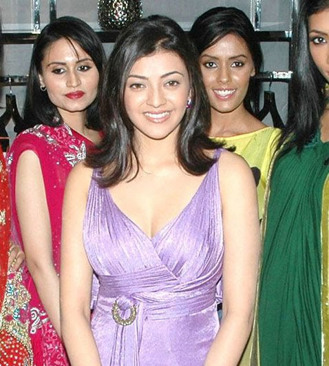 kajal opening of desinger mall of kalanikethan latest photos
