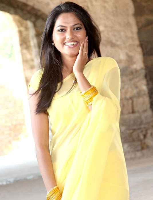 suhasini mouna ragam heroine in saree glamour  images
