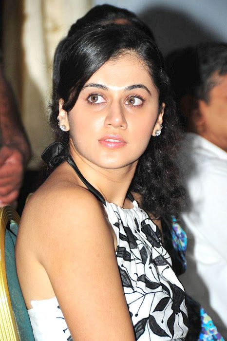 tapsee in white skin at kalamandir foundation unseen pics