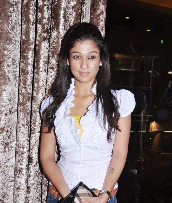 nayanatara in white dress hot photoshoot