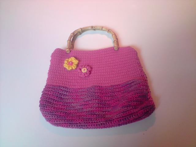 Crochet Lunch Bag : ... crochet, knitting, paper art and ideas swap corner.: Crochet lunch bag