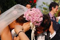 foto matrimonio lancio riso