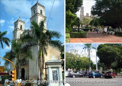 Valladolid Plaza, Yucatan Peninsula, Mexico