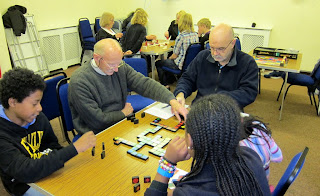 Some of the players at this weeks Social Afternoon with Games