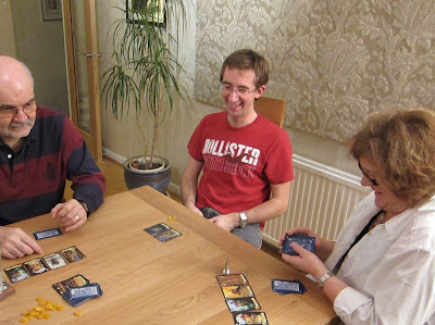 A funny moment during a game of Citadels