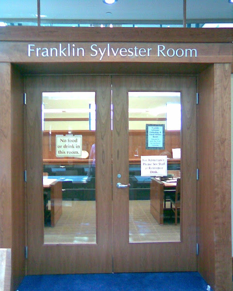 Welcome to The Franklin Sylvester Room