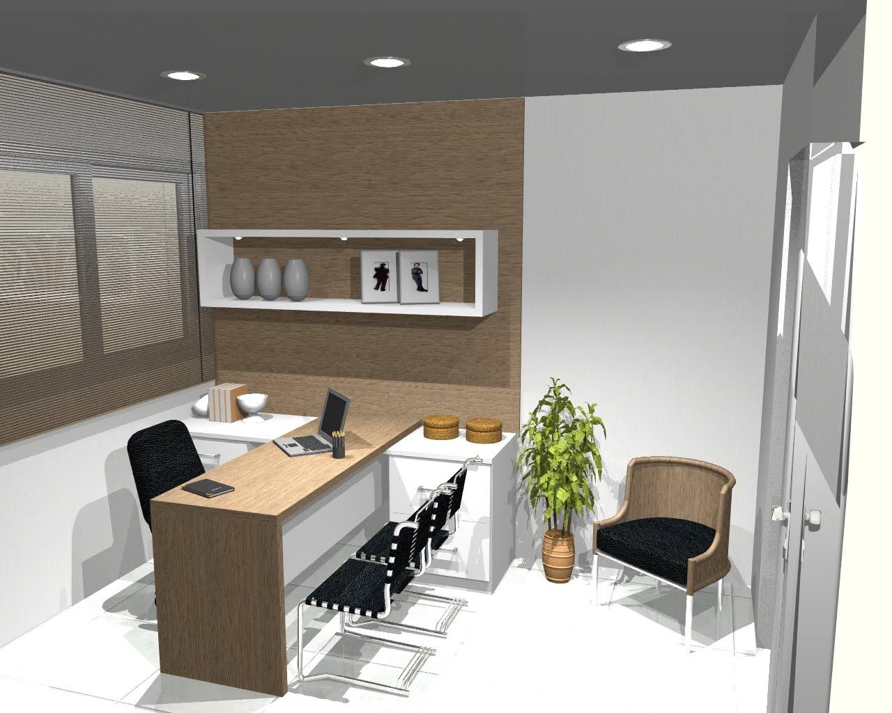 Oggi Arquitetura e Ambientação: Escritório de Advocacia #946E37 1280x1024