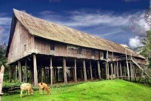 rumah_betang_tumbang_gagu-Kalteng-traditional-house