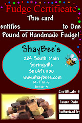 Fudge Fundraising