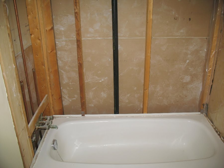 360renos bathroom wall tile updating for How to install tile board in the bathroom