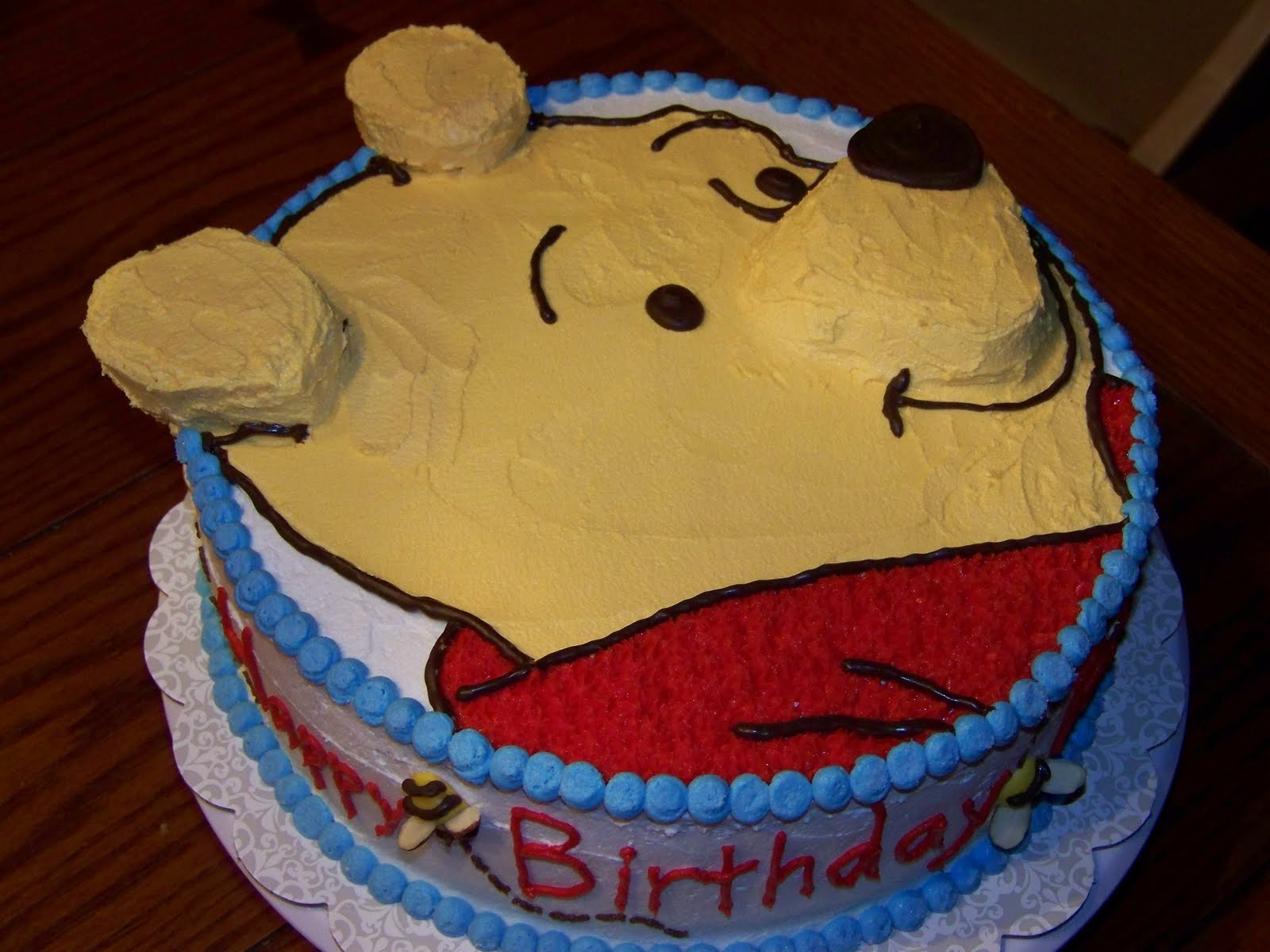 Cake Design Winnie Pooh : Winnie The Pooh Cake Designs Instructions Ideas Pictures ...