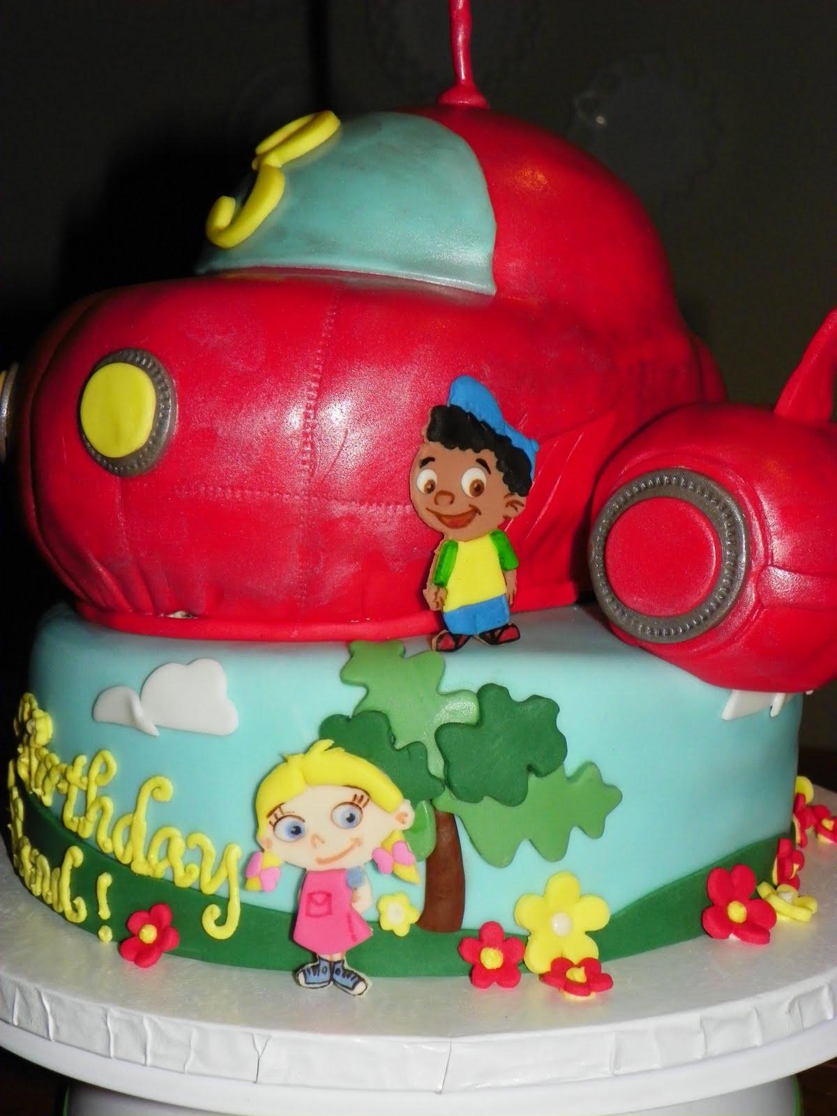 Plumeria Cake Studio Little Einsteins Birthday Cake