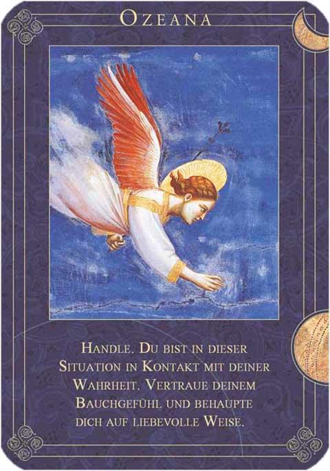 LeuchtSpuren: Die heutige Engelkarte