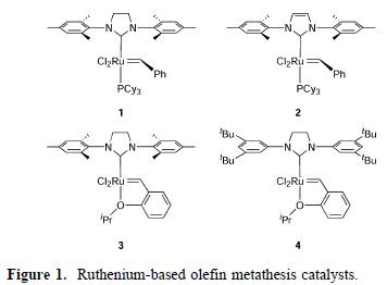 olefin metathesis in organic chemistry P 22-29 / apis olefin metathesis: a versatile synthetic tool for use in preparation of active pharmaceutical ingredients.