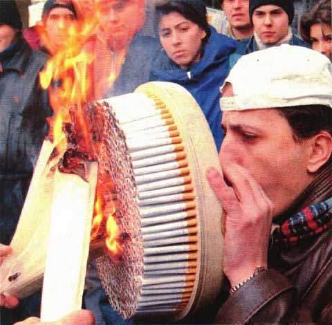 Proyecto para regular consumo de tabaco tiene media sancion