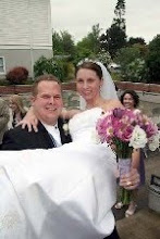 On our wedding day May 25, 2008