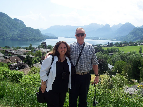 Here we are in Austria 2007 (looking like tourist!)