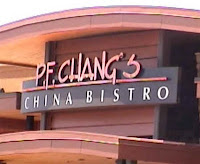 PF Changs menu