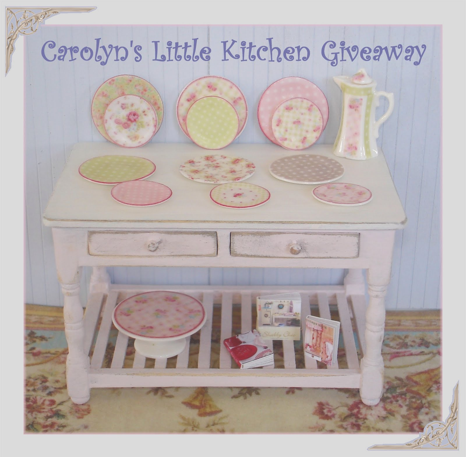 Carolyn's Little Kitchen: August 2010