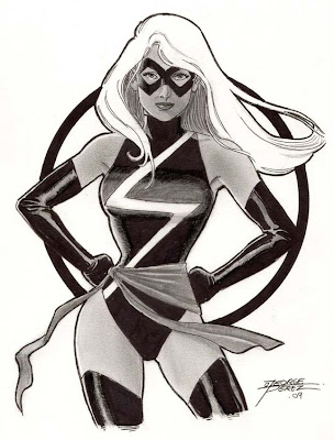Perez+Grey+Tone+Ms.+Marvel
