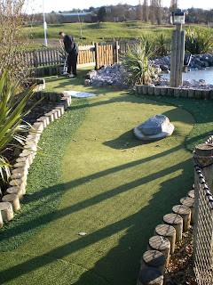 Adventure Golf at Northwick Park in Harrow