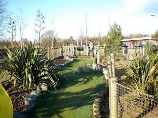 Adventure Golf at Northwick Park in Harrow