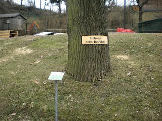 Eternit Miniature Golf course at the Askoe Wien Wasserpark in Vienna, Austria