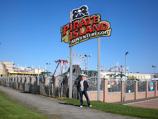 Pirate Island Adventure Golf at Codona's Amusement Park in Aberdeen