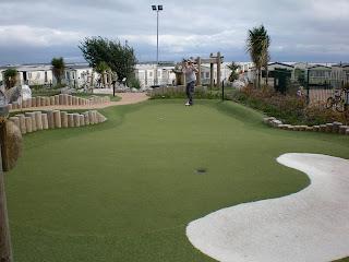 Adventure Golf at Trecco Caravan Park in Porthcawl