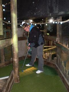 Golden Isle Indoor Adventure Golf course in Blackpool