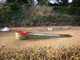 Crazy Golf course in Colchester, Essex