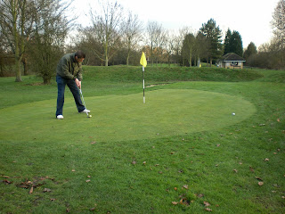 Miniature Golf at West Park in Chelmsford, Essex