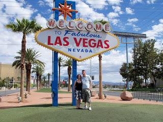 Emily and Richard in Fabulous Las Vegas last summer