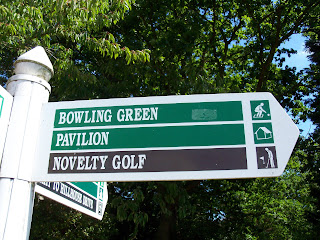 Novelty Crazy Golf in Lake Meadows Park, Billericay