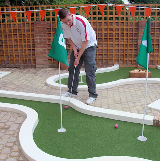 Crazy Golf in East Finchley, London
