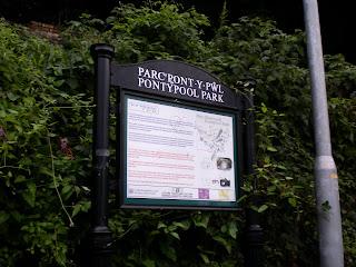 Parc Pont-y-pŵl / Pontypool Park in Wales