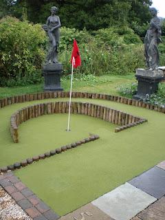 Wye Valley Miniature Golf course in Symonds Yat West