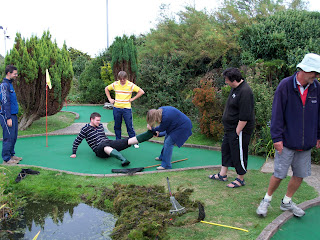 The Minigolf Welly Boot Swamp Ball Incident in Hastings
